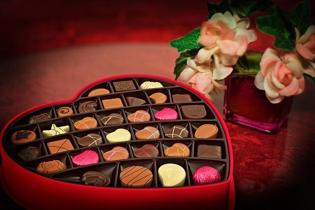 chocolate valentin
